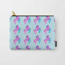 g1 my little pony sea ponies pattern Carry-All Pouch