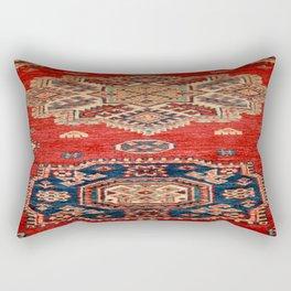 Natural Dyed Handmade Anatolian Carpet Rectangular Pillow