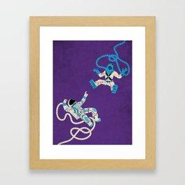 Strange Encounters  Framed Art Print