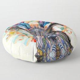 Unconfined Floor Pillow