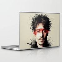 johnny depp Laptop & iPad Skins featuring Johnny Depp by Brigitta