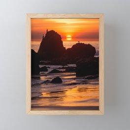 California Summer Framed Mini Art Print