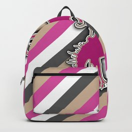 Cowgirl Bucking Horse Western Rodeo Design Backpack