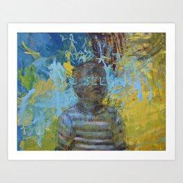 Swazi Art 6 Art Print