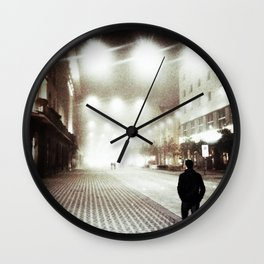 Night in Ljubljana Wall Clock