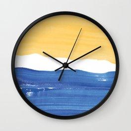 Contrast Halftone Wall Clock