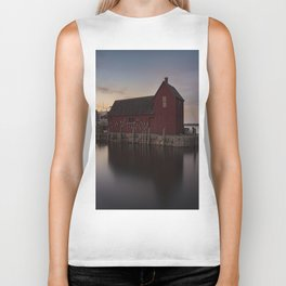 Motif #1 after sunset Biker Tank