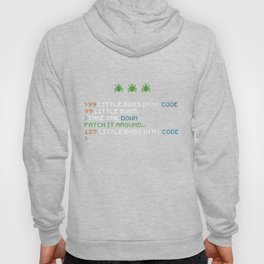 99 Little Bugs In My Code Coding Debugging Funny  Hoody