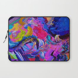 Abstract Viscosity Laptop Sleeve
