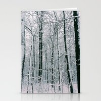 blankets Stationery Cards featuring Blankets of Snow by Warren Silveira + Stay Rustic
