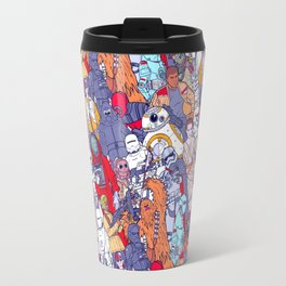 Smaller Space Toons in Color Travel Mug