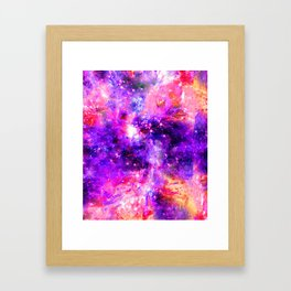 We're Nothing Yet Everything In This Universe Framed Art Print