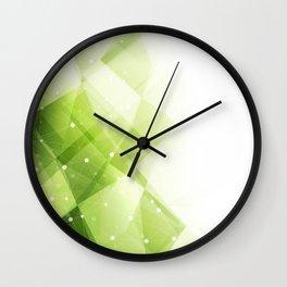Modern technology background Wall Clock