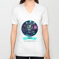 league of legends V-neck T-shirts featuring League Of Legends - Ziggs by TheDrawingDuo