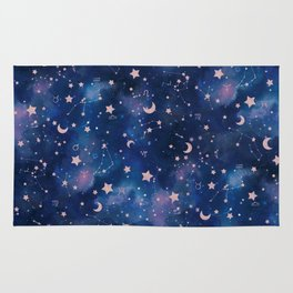 Zodiac - Watercolor Rug