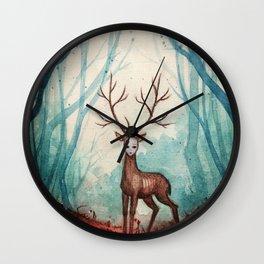 King Deer Wall Clock