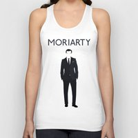moriarty Tank Tops featuring Jim Moriarty by Amélie Store