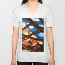 Alpine Collage Unisex V-Neck