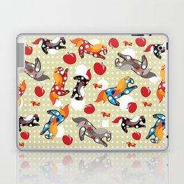 Паттерн с лошадками Laptop & iPad Skin