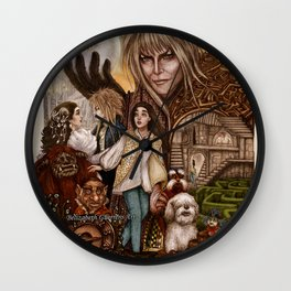 Labyrinth Tribute Wall Clock