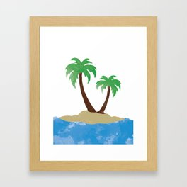 Vacation State of Mind Framed Art Print