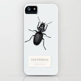 Yesterday - Alternative Movie Poster iPhone Case