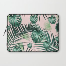 Tropical Jungle Leaves Garden #2 #tropical #decor #art #society6 Laptop Sleeve