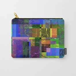 Colorful layered pattern 2 Carry-All Pouch