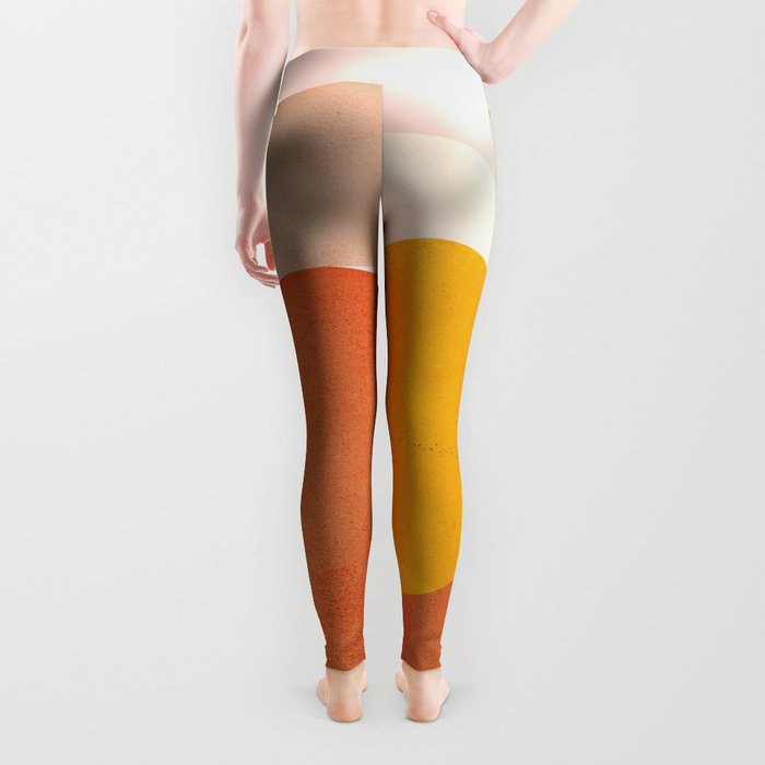 Abstraction_Mountains Leggings