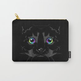 Black cute cat Carry-All Pouch