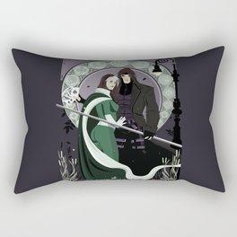Rogue Remy Art Nouveau Rectangular Pillow