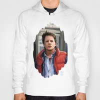 mcfly Hoodies featuring Marty McFly by Kaysiell