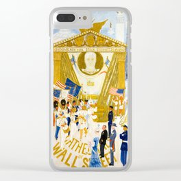 The Cathedrals of Wall Street by Florine Stettheimer, 1939 Clear iPhone Case