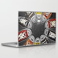 chuck Laptop & iPad Skins featuring Chuck Yeah!  by MistyAnn @ What the F-stop Prints