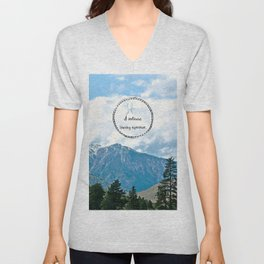 Life: A Continuous Learning Experience Unisex V-Neck