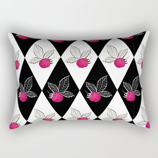 Abstraction.Berry-raspberry. Rectangular Pillow