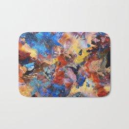 Dark Paint Splash Bath Mat