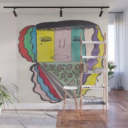 I Love Pizza But Is It Kosher Pizza Wall Mural