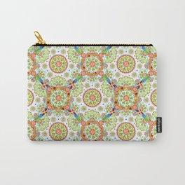 Brocade Mandala Carry-All Pouch