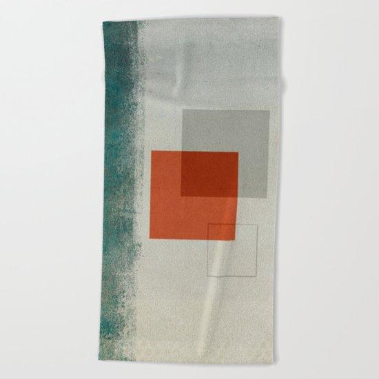Abstract #173 Beach Towel