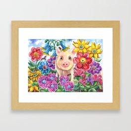 Penelope Framed Art Print