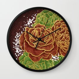 VI. The Lovers Wall Clock