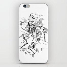 R0B0-H34RT (Robot Heart) iPhone Skin