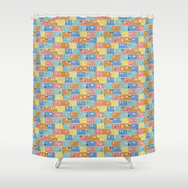 Pastel Bo-Kaap Shower Curtain