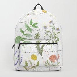 Medicinal Herbs Backpack
