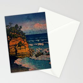 Bathing in Sunset Stationery Cards