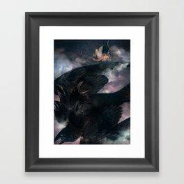Beware the Bird Framed Art Print