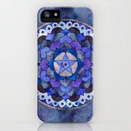 Star Mandala Storm iPhone Case