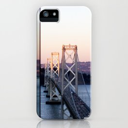Reflections of the Bay Bridge iPhone Case
