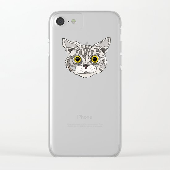 Awkward Moment Clear iPhone Case